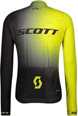 Scott Men's RC Pro L/SL Sulphur Yellow/Black S