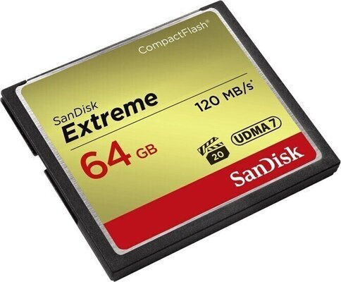 SanDisk Extreme CompactFlash 64 GB SDCFXSB-064G-G46