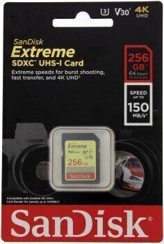 SanDisk Extreme SDXC 256 GB SDSDXV5-256G-GNCIN