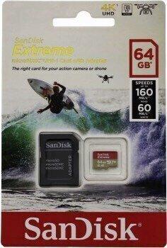 SanDisk Extreme microSDXC 64 GB SDSQXA2-064G-GN6AA