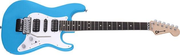 Charvel Pro-Mod So-Cal Style 1 HSH FR EB Robin's Egg Blue