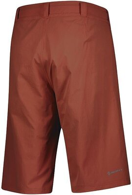Scott Men's Trail Flow W/Pad Rust Red S