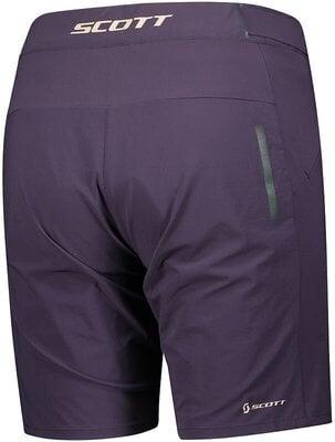 Scott Women's Endurance LS/Fit W/Pad Dark Purple S