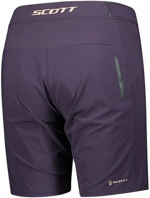 Scott Women's Endurance LS/Fit W/Pad Dark Purple L