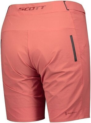 Scott Women's Endurance LS/Fit W/Pad Brick Red XS