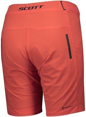 Scott Women's Endurance LS/Fit W/Pad Flame Red M