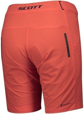 Scott Women's Endurance LS/Fit W/Pad Flame Red L