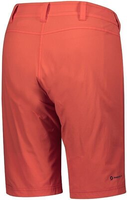 Scott Women's Trail Flow W/Pad Flame Red XL