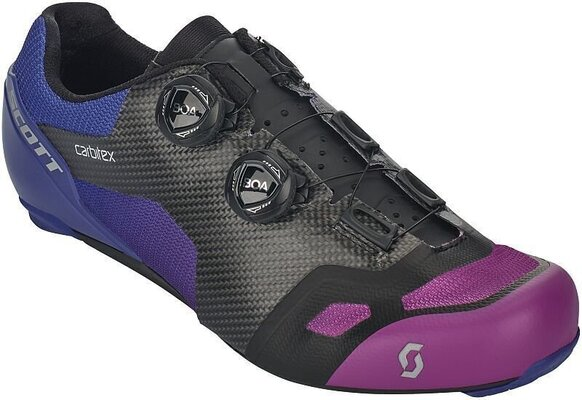 Scott Road RC SL Supersonic Edt Black/Drift Purple 43
