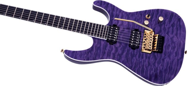 Jackson Pro Series Soloist SL2Q MAH EB Transparent Purple Burst