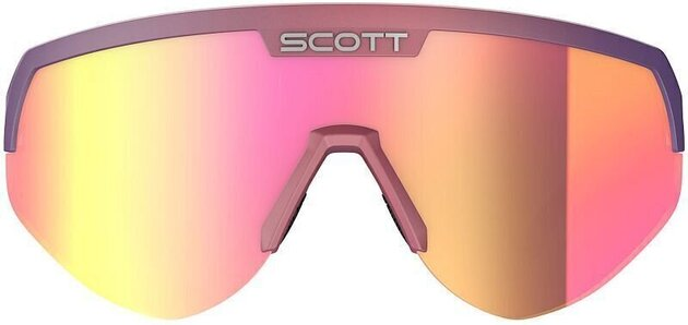 Scott Sport Shield Supersonic Edt Black/Drift Purple/Pink Chrome