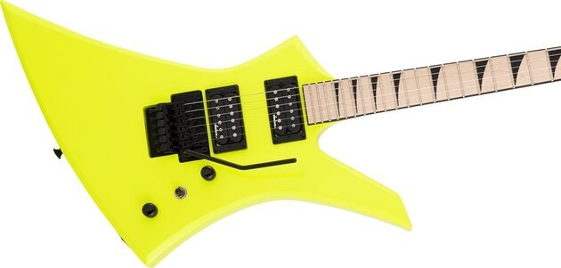 Jackson X Series Kelly KEXM MN Neon Yellow
