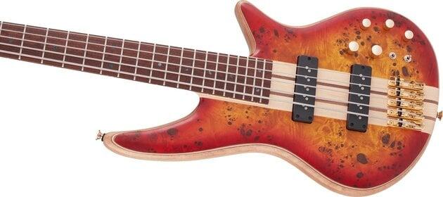 Jackson Pro Series Spectra Bass SB V JA Cherry Burst