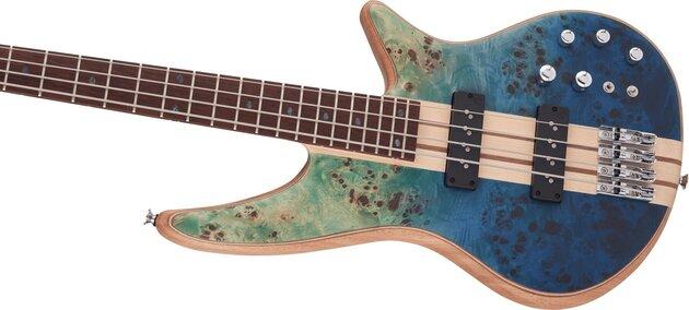 Jackson Pro Series Spectra Bass SBP IV Caramelized JA Caribbean Blue