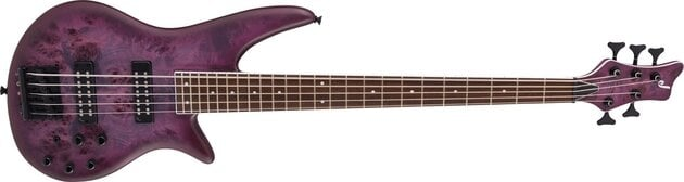 Jackson X Series Spectra Bass SBXP V IL Transparent Purple Burst