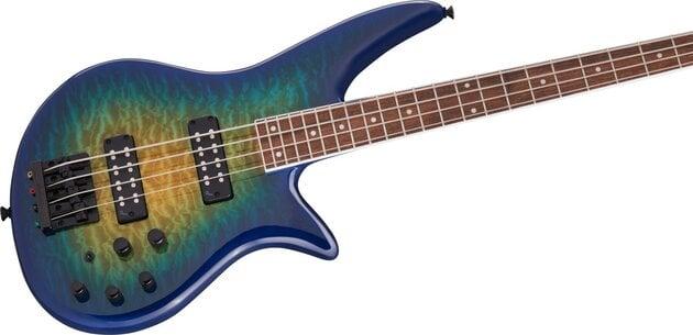 Jackson X Series Spectra Bass SBXQ IV IL Amber Blue Burst