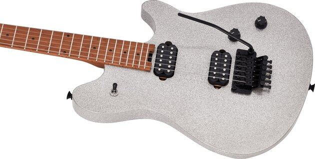 EVH Wolfgang Standard Baked MN Silver Sparkle