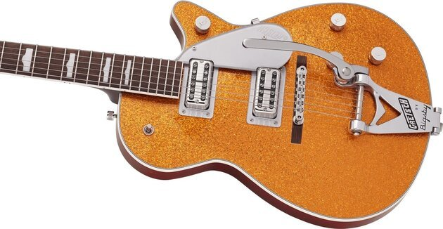 Gretsch G6129T-89VS Vintage Select 89 Sparkle Jet RW Gold Sparkle