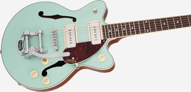 Gretsch G2655T-P90 Streamliner Center Block Jr P90 IL Two-Tone Mint Metallic