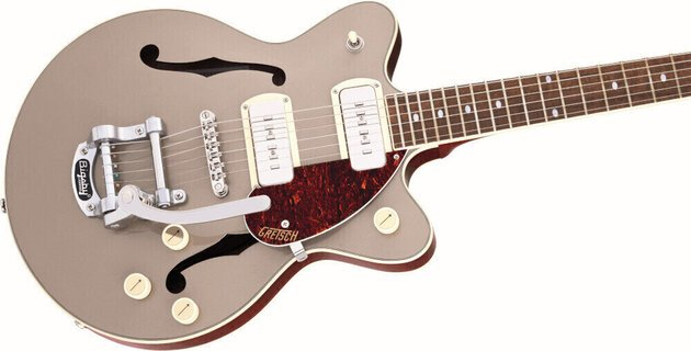 Gretsch G2655T-P90 Streamliner Center Block Jr P90 IL Two-Tone Sahara Metallic