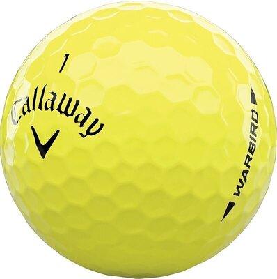 Callaway Warbird 21 Yellow Golf Balls