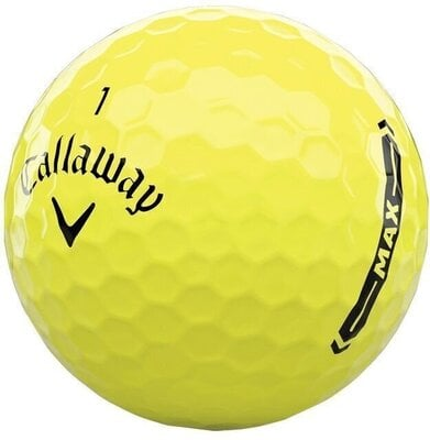 Callaway Supersoft Max Yellow Golf Balls