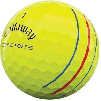 Callaway ERC Soft Yellow Triple Track Golf Balls