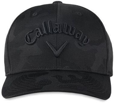 Callaway Camo Snapback Cap Black