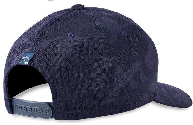 Callaway Camo Snapback Cap Navy