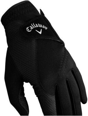 Callaway Thermal Grip Mens Golf Gloves Black M
