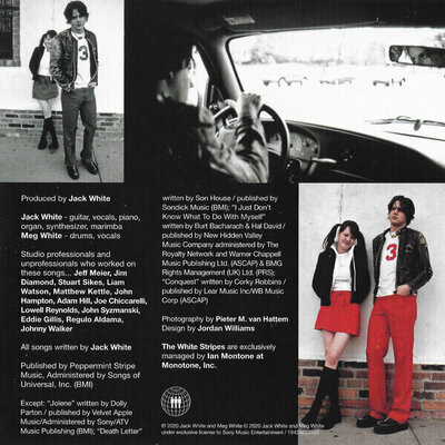 The White Stripes The White Stripes Greatest Hits (CD)