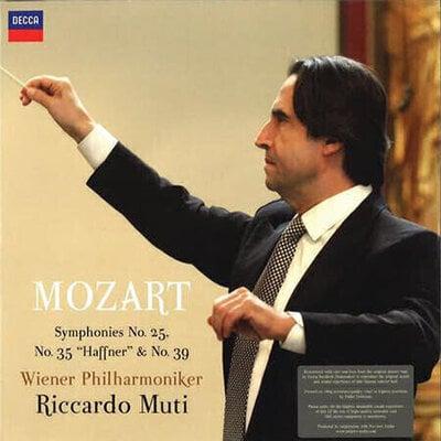 Riccardo Muti Mozart Symphonies Nr. 25, 35, 39 (2 LP)