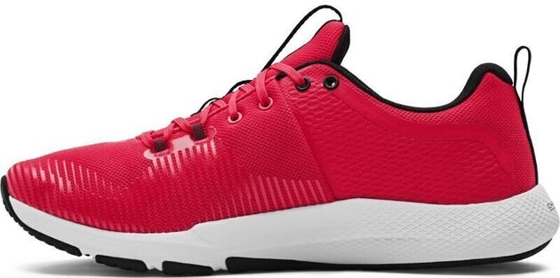 Under Armour Charged Engage Mens Shoes Red/Halo Gray/Black 7
