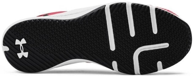 Under Armour Charged Engage Mens Shoes Red/Halo Gray/Black 7.5