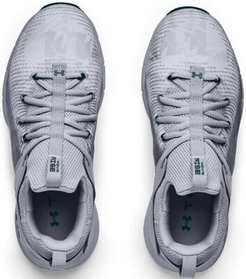 Under Armour Hovr Rise 2 Womens Shoes Mod Gray/Mod Gray/Dark Cyan 6.5