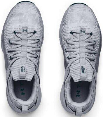 Under Armour Hovr Rise 2 Womens Shoes Mod Gray/Mod Gray/Dark Cyan 8