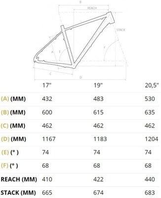 4Ever Esword Sport 29''Grey/Metallic Blue 17''2021