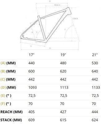 4Ever Frontbee XT 1 29''Black/Metallic Blue 19''2021