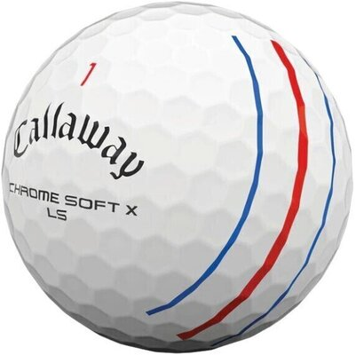Callaway Chrome Soft X LS White Triple Track Golf Balls