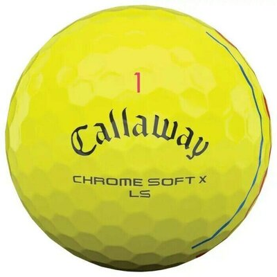 Callaway Chrome Soft X LS Yellow Triple Track Golf Balls