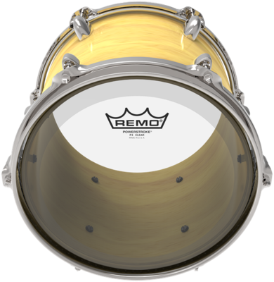Remo Powerstroke 4 Clear 15''