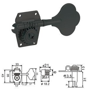 Dr.Parts BMH 1530 BK R 4
