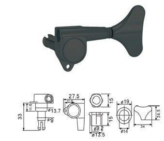 Dr.Parts BMH 7105 BK R 2 L 2