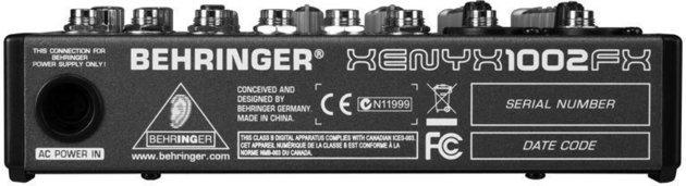 Behringer XENYX 1002 FX