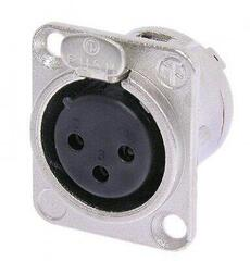 Neutrik NC3FD-L-1 XLR Connector