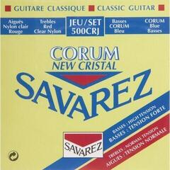 Savarez 500CRJ Cristal Corum Red/Blue