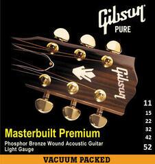 Gibson Masterbuilt Premium Phosphor Bronze 011-052