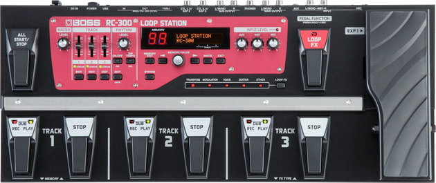 Boss RC-300 Loop Station