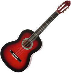 Valencia CG160 RDS Classical guitar red sunburst