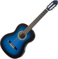 Valencia CG160 BUS Classical guitar 3/4 Blue Sunburst
